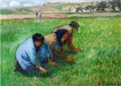 Weeders 1882 | Camille Pissarro | oil painting