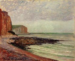 Cliffs at Petit Dalles 1883 | Camille Pissarro | oil painting