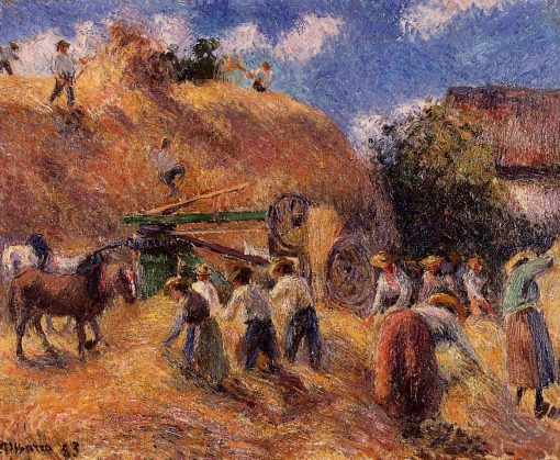 The Harvest 1883 | Camille Pissarro | oil painting