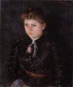 Portrait of Nini 1884 | Camille Pissarro | oil painting