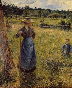 The Tedder 1884 | Camille Pissarro | oil painting