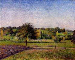 Meadows at Eragny 1886 | Camille Pissarro | oil painting