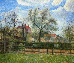 Pear Trees and Flowers at Eragny