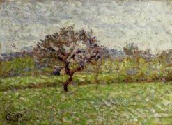 An Apple Tree at Eragny 1887 | Camille Pissarro | oil painting
