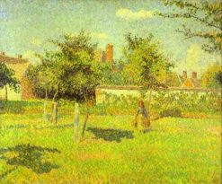 Woman in an Orchard