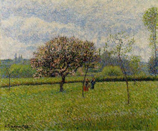 Flowering Apple Trees at Eragny 1888 | Camille Pissarro | oil painting