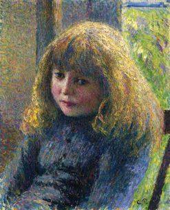 Paul Emile Pissarro 1890 | Camille Pissarro | oil painting