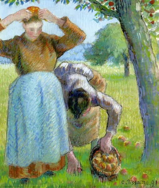 Apple Gatherers 1891 | Camille Pissarro | oil painting