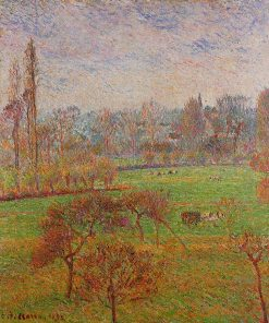 Autumn Morning 1892 | Camille Pissarro | oil painting