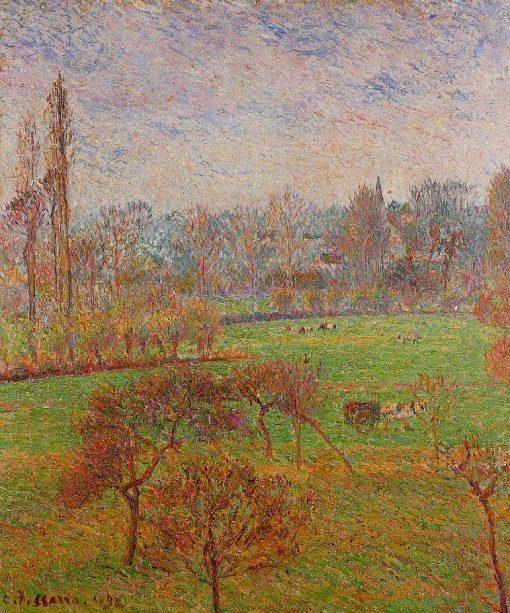 Autumn Morning 1892 | Camille Pissarro | oil painting