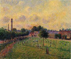 Kew Gardens 1892 | Camille Pissarro | oil painting