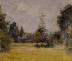 Kew Gardens 2 1892 | Camille Pissarro | oil painting