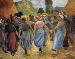 The Roundelay | Camille Pissarro | oil painting