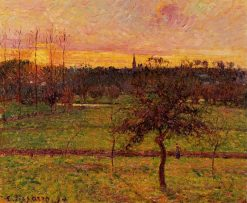 Landscape at Eragny 1894 | Camille Pissarro | oil painting