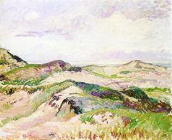 The Dunes at Knokke 1894 | Camille Pissarro | oil painting