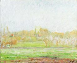 Fog in Eragny 1895 | Camille Pissarro | oil painting