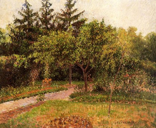The Garden at Eragny 1895 | Camille Pissarro | oil painting