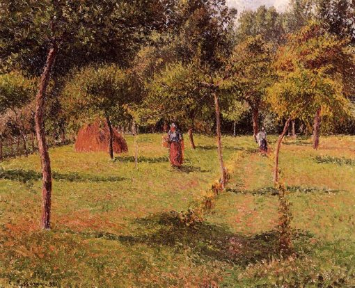 Enclosed Field at Eragny 1896 | Camille Pissarro | oil painting