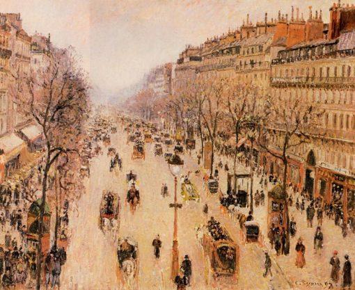 Boulevard Montmartre Morning