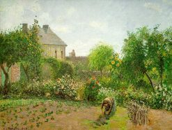 The Artist's Garden at Eragny 1898 | Camille Pissarro | oil painting