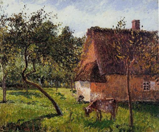 A Field in Varengeville 1899 | Camille Pissarro | oil painting