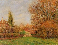 Autunm in Eragny 1899 | Camille Pissarro | oil painting