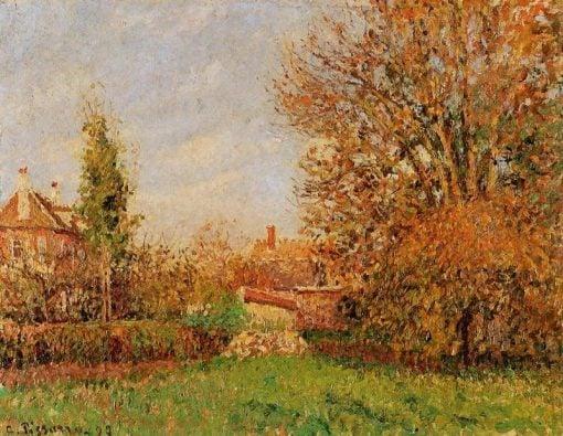Autunm in Eragny 1899 | Camille Pissarro | oil painting