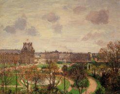 Garden of the Louvre Morning