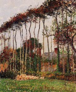Landscape at Varengeville 1899 | Camille Pissarro | oil painting