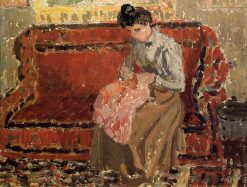 Jeanne Coushant 1900 | Camille Pissarro | oil painting