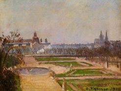 The Tuileries and the Louvre 1900 | Camille Pissarro | oil painting