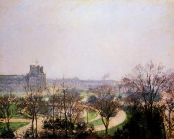 The Tuileries Gardens 1900 | Camille Pissarro | oil painting