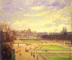The Tuileries Gardens 2 1900 | Camille Pissarro | oil painting