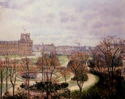 View of the Tuileries