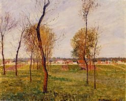 A Meadow in Moret 1901 | Camille Pissarro | oil painting