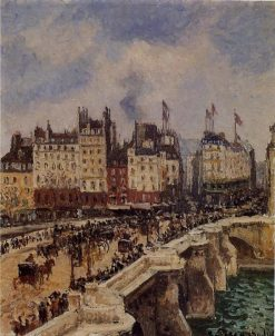 The Pont Neuf 1901 | Camille Pissarro | oil painting