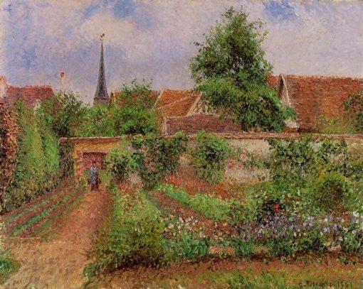 Vegetable Garden in Eragny