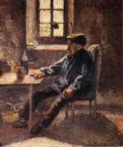 Old Wingrower in Moret 1902 | Camille Pissarro | oil painting