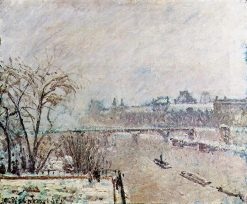 The Seine Viewed from the Pont Neuf