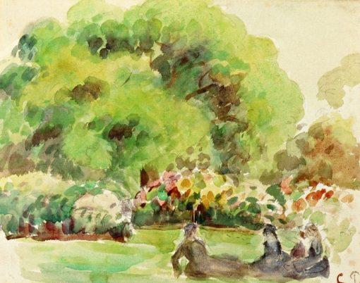 Cagnes Landscape   Camille Pissarro   oil painting