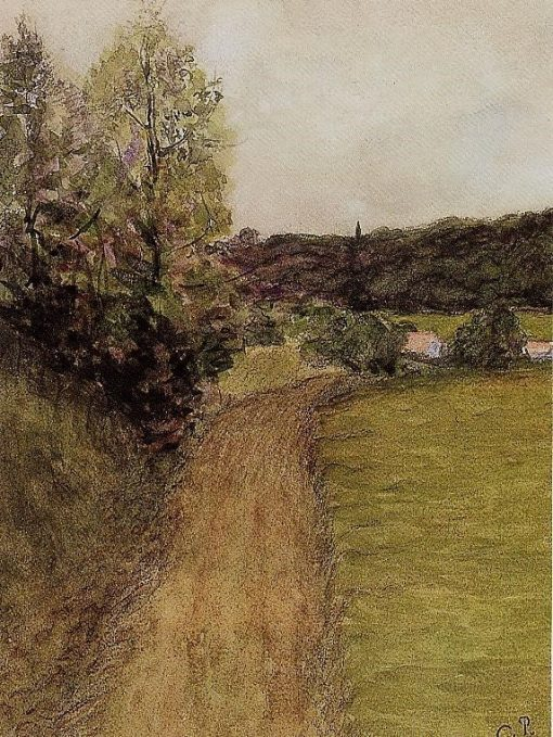 Landscape 2   Camille Pissarro   oil painting