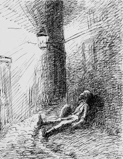 Poor John | Camille Pissarro | oil painting
