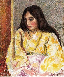Portrait of Jeanne | Camille Pissarro | oil painting