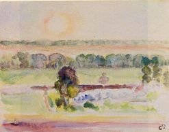 The Effect of Sunlight | Camille Pissarro | oil painting