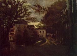 The Mill at La Roche Goyon | Camille Pissarro | oil painting