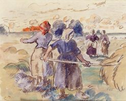 The Tedders | Camille Pissarro | oil painting