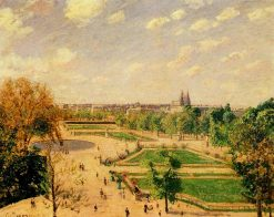 The Tuilleries Gardens Morning