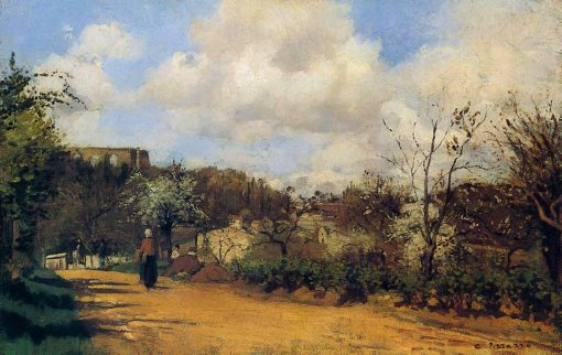 View from Louveciennes | Camille Pissarro | oil painting
