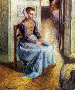 Young Flemish maid | Camille Pissarro | oil painting