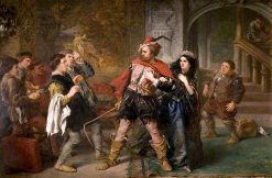 The Taming of the Shrew | Sir John Gilbert | oil painting